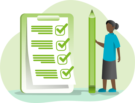 checklist monochromatic